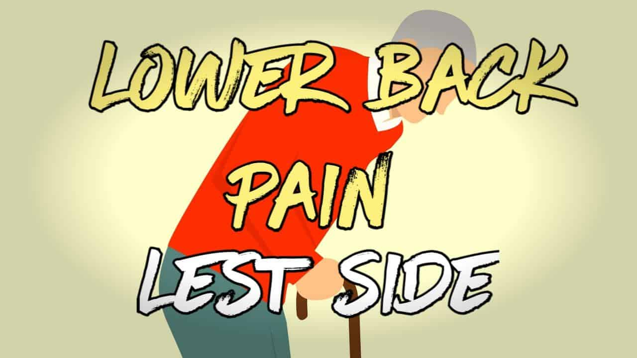 lower back pain left side