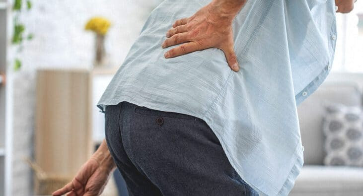 Lower Back Pain When Standing Up From Sitting Position