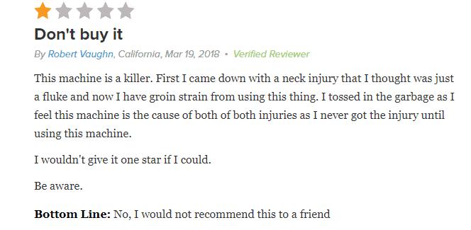 Lo-Bak TRAX customer review 3