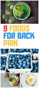 9 Foods Back Pain Sufferers Should Eat