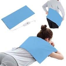 Top 3 Best Electric Heating Pad For Lower Back Pain